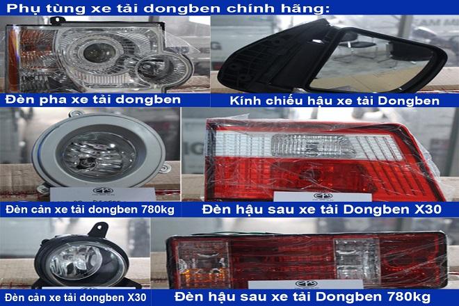 Phụ tùng gương đèn Dongben